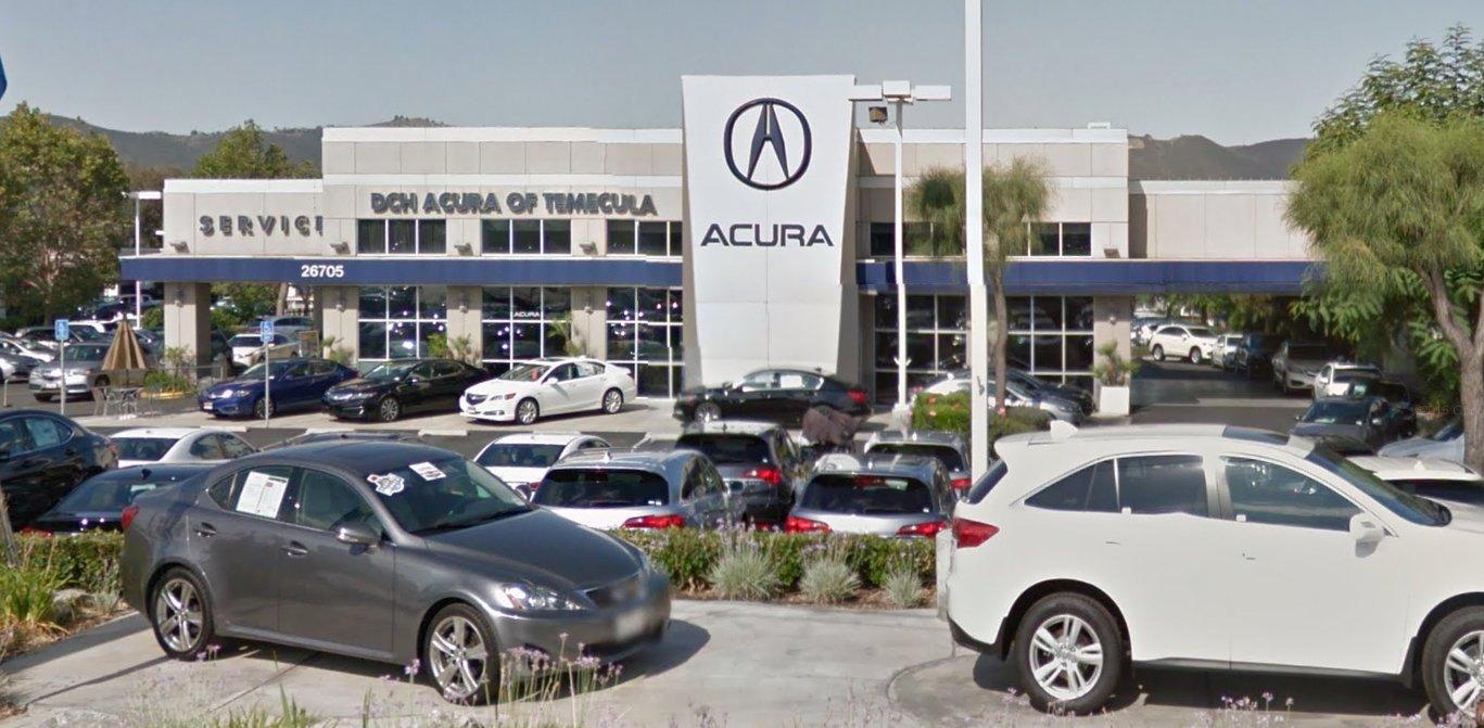 Jeep Dealership San Diego >> DCH Acura of Temecula | Temecula Valley Auto Mall