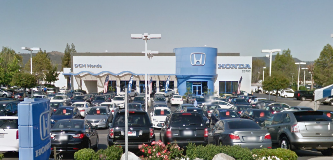 dch honda of temecula temecula valley auto mall