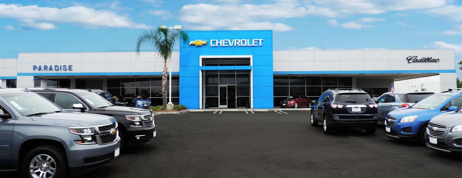 Paradise Chevrolet-Cadillac