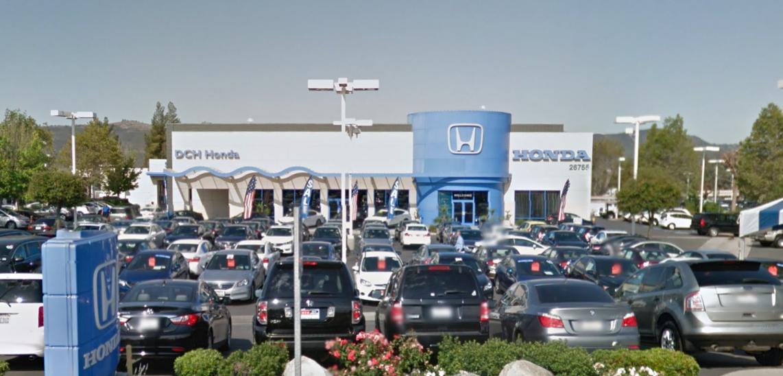 DCH Honda of Temecula – Temecula Valley Auto Mall
